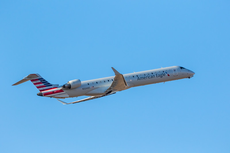 -(Airline) American Eagle (Operated by Mesa Airlines) <br /> -(Aircraft) Bombardier CRJ-900LR<br /> -(Aircraft Registration) N326MS<br /> -(Flight Number) Mesa 5869<br /> -(Flight Route) Rick Husband Amarillo International Airport, Texas to Dallas-Fort Worth International Airport, Texas
