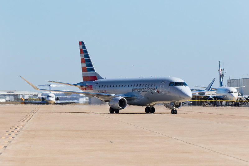 -(Aircraft) Embraer E-175<br /> -(Airline) American Eagle (Operated by Envoy Air)