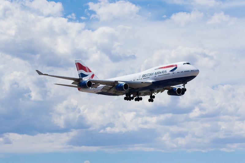-(Airline) British Airways<br /> -(Aircraft) Boeing 747-400<br /> -(Aircraft Registration) G-CIVO<br /> -(Flight Number) British Airways 271<br /> -(Flight Route) Heathrow Airport,  England to McCarran International Airport, NV