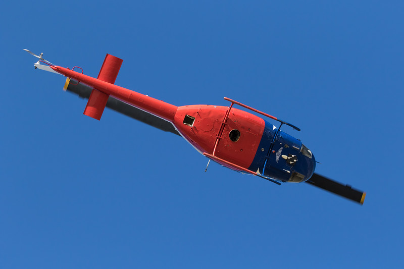-(Aircraft) Bell 205B<br /> -(Operator) Bell Helicopter<br /> -(Function) Chase Helicopter/Rescue Helicopter for Bell Helicopter Test Flights