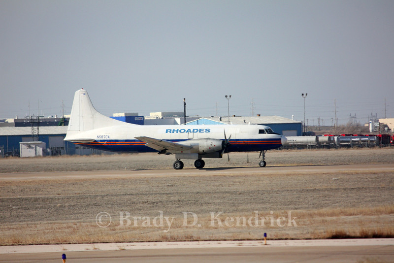 Type:  CONVAIR CV-580 <br /> <br /> Photo Location:  Rick Husband International in Amarillo, Texas