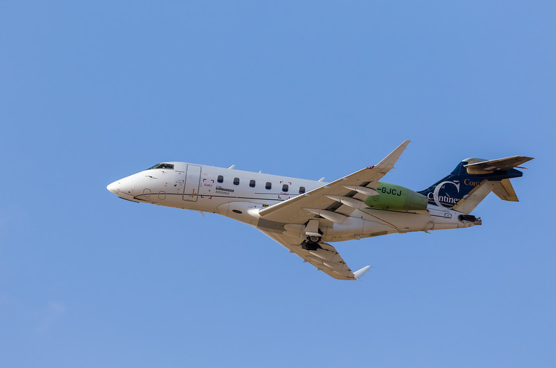 -(Aircraft) Bombardier Challenger 300<br /> -(Aircraft Registration) C-GJCJ <br /> -(Owner) Bombardier Inc.