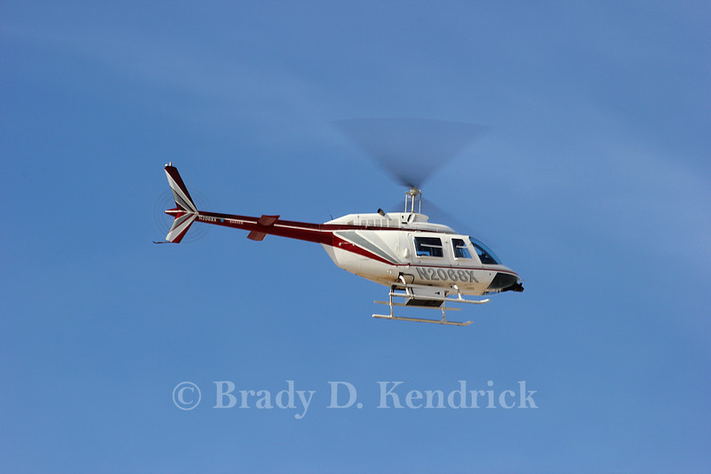 Aircraft Type:  Bell 206B<br /> <br /> Photo Location:  Rick Husband International Airport in Amarillo, Texas