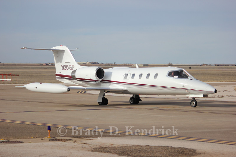 Aircraft Type:  Learjet 35A<br /> <br /> Photo Location:  Rick Husband International Airport in Amarillo, Texas
