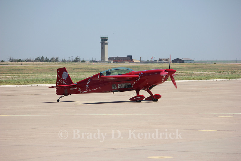 Owner:  Jacquie Warda<br /> <br /> Aircraft Type:  Extra EA-300S<br /> <br /> Photo Location:  Rick Husband Amarillo International Airport