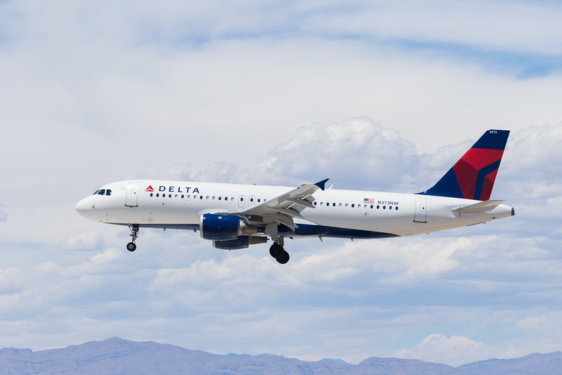 -(Airline) Delta Air Lines <br /> -(Aircraft) Airbus A320-200<br /> -(Aircraft Registration) N373NW<br /> -(Flight Number) Delta 1840<br /> -(Flight Route) Detroit Metropolitan Airport, MI to McCarran International Airport, NV