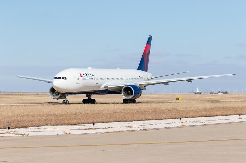-(Airline) Delta Air Lines<br /> -(Aircraft) Boeing 777-200ER<br /> -(Aircraft Registration) N867DA
