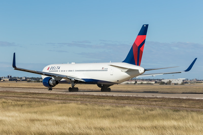-(Airline) Delta Air Lines<br /> -(Aircraft) Boeing 767-300ER<br /> -(Aircraft Registration) N190DN<br /> -(Flight Number) Delta Air Lines Flight 9932<br /> -(Flight Route) Rick Husband Amarillo International Airport, TX to Salt Lake City International Airport, UT