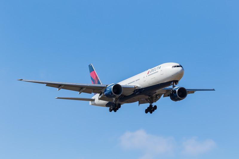 -(Airline) Delta Air Lines<br /> -(Aircraft) Boeing 777-200ER<br /> -(Aircraft Registration) N860DA<br /> -(Flight Number) Delta Airlines Flight 9934 <br /> -(Flight Route) Hartsfield–Jackson Atlanta International Airport, GA to Rick Husband Amarillo International Airport, TX