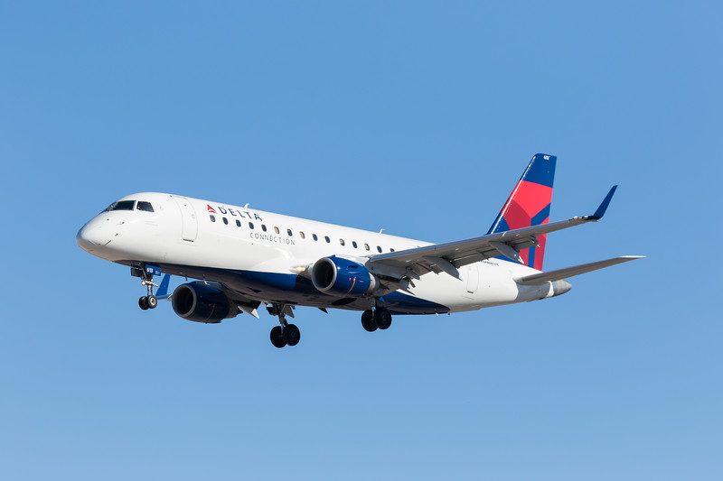 -(Airline) Delta Connection - Operated by Compass Airlines<br /> -(Aircraft) Embraer ERJ-175 <br /> -(Aircraft Registration) N613CZ<br /> -(Flight Number) Compass Airlines 5692<br /> -(Flight Route) Los Angeles International Airport, CA to McCarran International Airport, NV