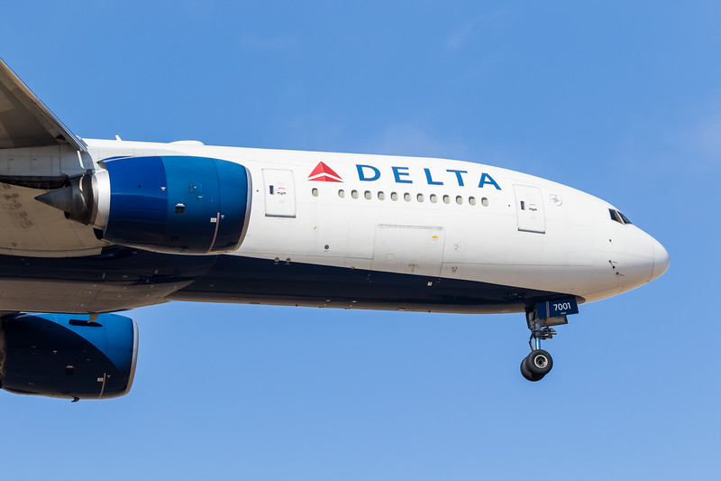 -(Airline) Delta Air Lines<br /> -(Aircraft) Boeing 777-200ER<br /> -(Aircraft Registration) N860DA<br /> -(Flight Number) Delta Airlines Flight 9934 <br /> -(Flight Route) Hartsfield–Jackson Atlanta International Airport, GA to Rick Husband Amarillo International Airport, TX