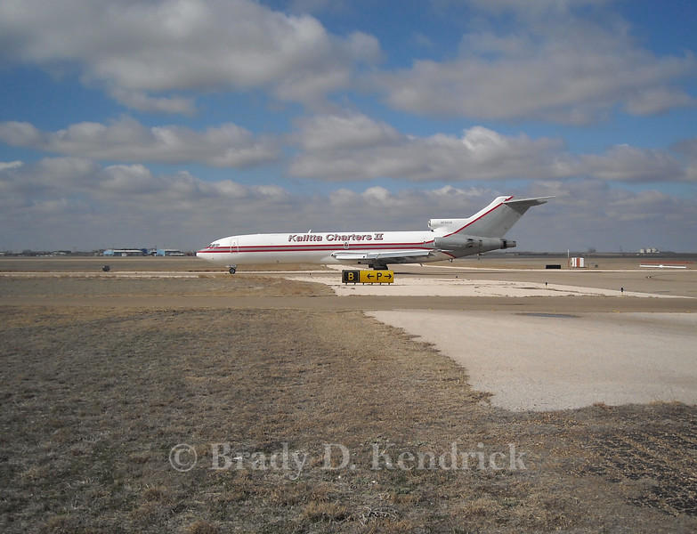 Aircraft:  Boeing 727-200<br /> <br /> Photo Location:  Rick Husband International Airport in Amarillo, Texas<br /> <br /> Special Note:  This aircraft is likely used by a U.S. Intelligence Agency (CIA, FBI, ect..)