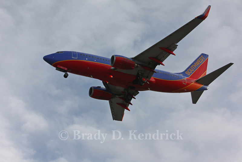 Airline: Southwest Airlines<br /> <br /> Aircraft Type: Boeing 737-300<br /> <br /> Photo Location: Rick Husband International Airport in Amarillo, Texas