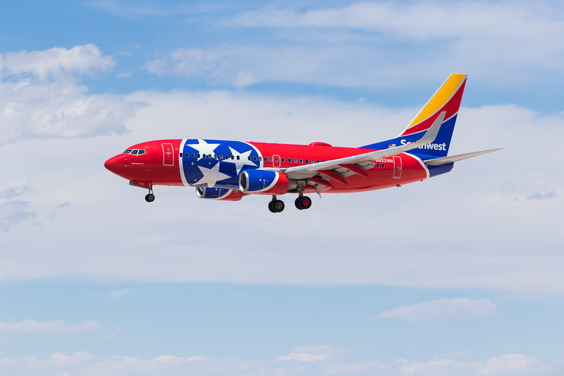 -(Airline) Southwest Airlines<br /> -(Aircraft) Boeing 737-700<br /> -(N Number) N922WN<br /> -(Flight Number) Southwest 2136 <br /> -(Flight Route) McCarran International Airport, NV to Phoenix Sky Harbor International Airport, AZ