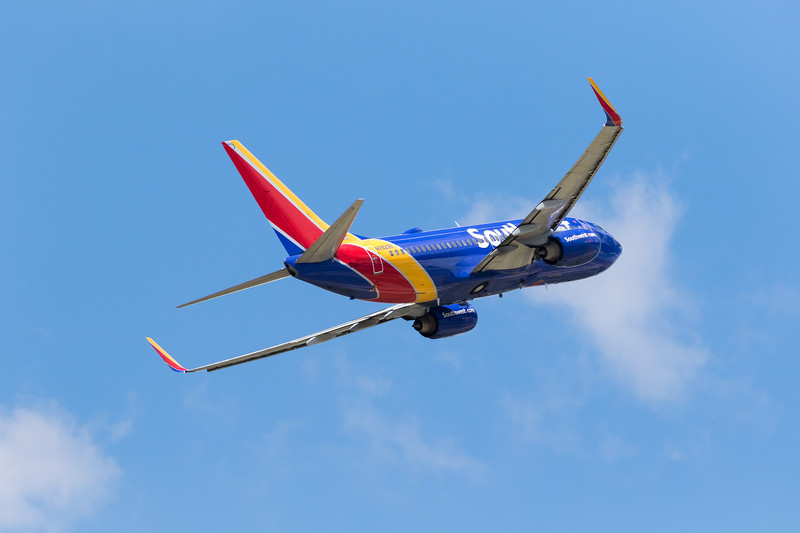 -(Airline) Southwest Airlines<br /> -(Aircraft) Boeing 737-700<br /> -(Aircraft Registration) N7829B<br /> -(Flight Number) Southwest  1510 <br /> -(Flight Route) Rick Husband Amarillo International Airport, TX to McCarran International Airport, NV