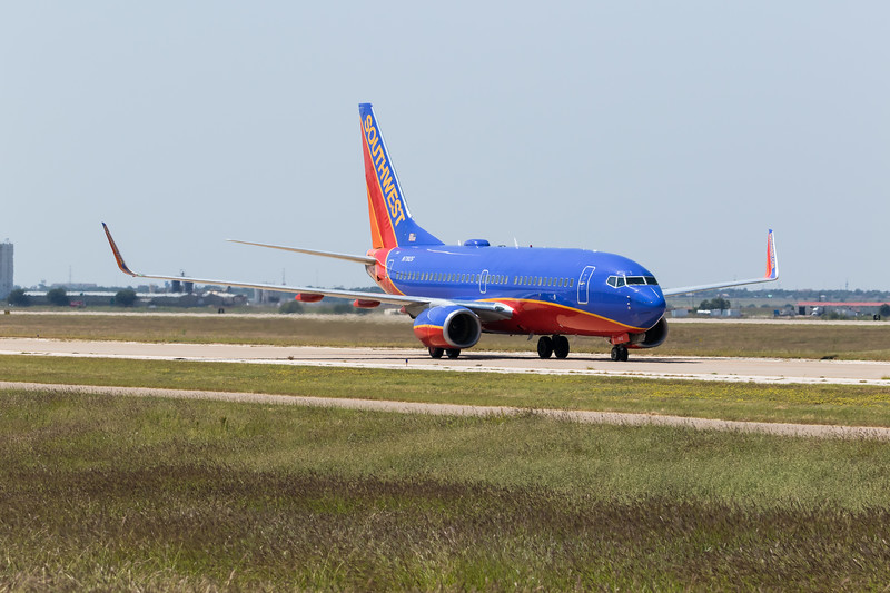 -(Airline) Southwest Airlines<br /> -(Aircraft) Boeing 737-700<br /> -(Aircraft Registration) N7812G<br /> -(Flight Number) Southwest Airlines Flight 1585<br /> -(Flight Route) Dallas Love Field, TX to Rick Husband Amarillo International Airport, TX
