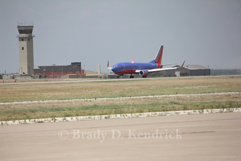 Airline: Southwest Airlines<br /> <br /> Aircraft Type: Boeing 737-700<br /> <br /> Photo Location: Rick Husband International Airport in Amarillo, Texas