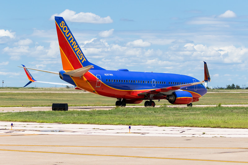 -(Aircraft)<br /> -(Airline) Boeing 737-700<br /> -(Flight Number) Southwest Airlines Flight 1509<br /> -(Flight Route) McCarran International Airport, NV to Rick Husband Amarillo International Airport, Texas