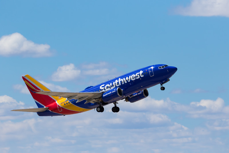 -(Aircraft) Boeing 737-700<br /> -(Airline) Southwest Airlines