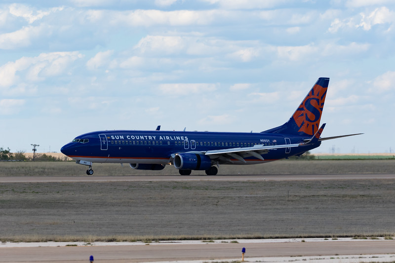-(Aircraft) Boeing 737-800<br /> -(Airline) Sun Country Airlines