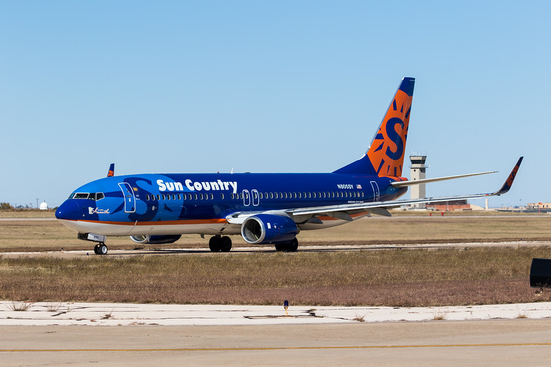 -(Airline) Sun Country Airlines<br /> -(Aircraft) Boeing 737-800<br /> -(Aircraft Registration) N805SY<br /> -(Flight Number) Sun Country Airlines Flight 8036<br /> -(Flight Route) Rick Husband Amarillo International Airport, TX to  San Angelo Regional Airport, TX