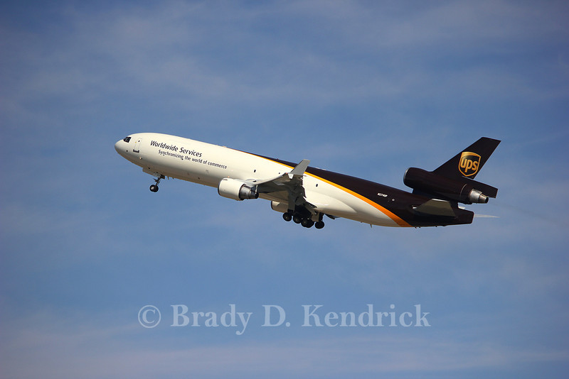 Operator: United Parcel Service (UPS)  <br /> <br /> Aircraft Type:  McDonnell Douglas MD-11F<br /> <br /> Photo Location:  Rick Husband International Airport in Amarillo, Texas