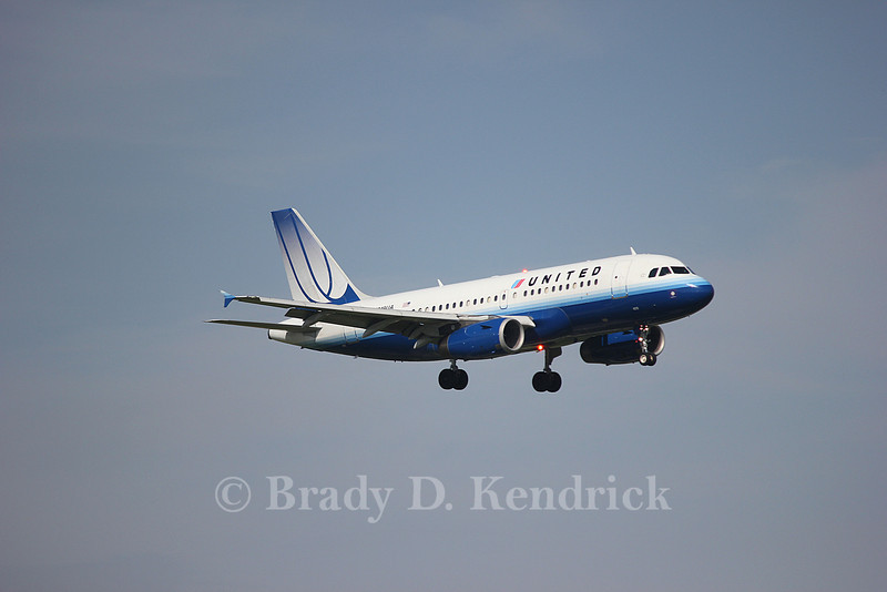 Airline:  United Airlines<br /> <br /> Aircraft Type:  Airbus A319-100<br /> <br /> Photo Location:  Dallas Fort Worth International Airport in Fort Worth, Texas