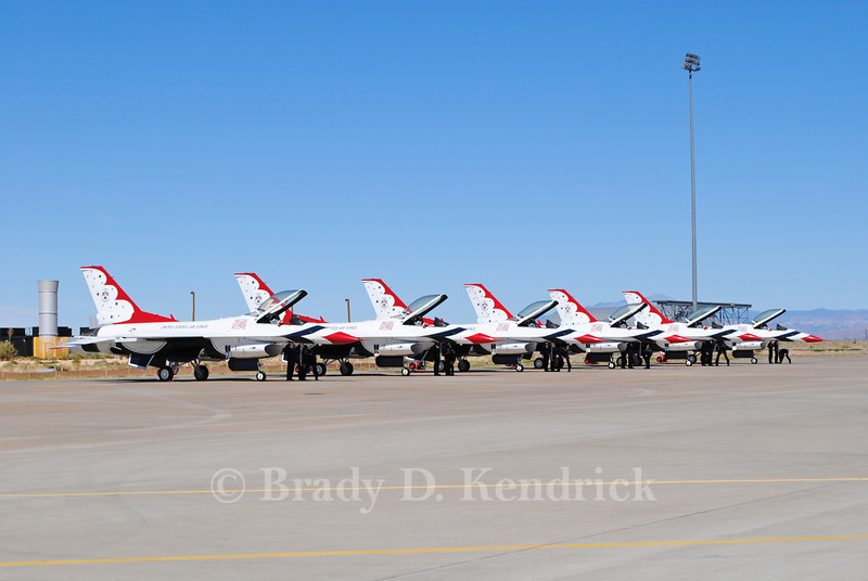 "-(Aircraft) General Dynamics F-16C Fighting Falcon <br /> -(Nation & Service) United States Air Force<br /> -(Squadron) USAF Air Demonstration Squadron ""Thunderbirds"" <br /> -(Home Base) Nellis Air Force Base, Nevada"