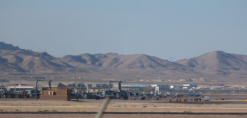 -(Location) Nellis Air Force Base, Nevada