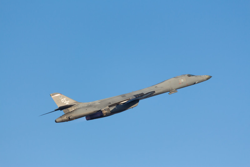 -(Aircraft) Rockwell B-1B Lancer<br /> -(Nation & Service) United States Air Force<br /> -(Squadron) 337th Test and Evaluation Squadron<br /> -(Home Base) Dyess Air Force Base, Texas