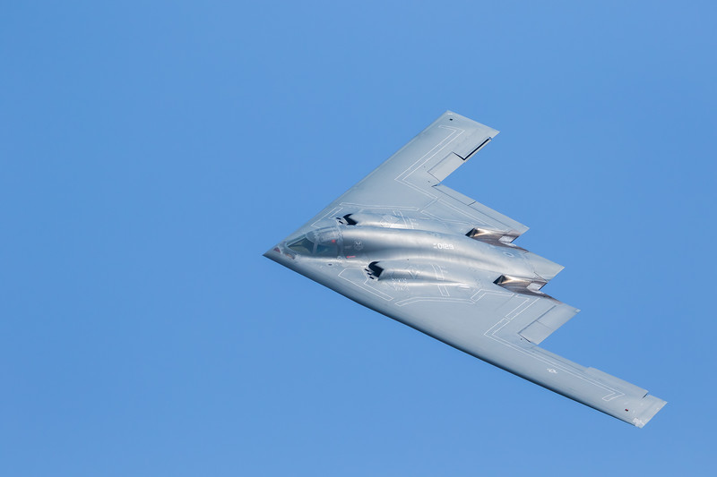 """-(Aircraft) Northrup Grumman B-2A Spirit<br /> -(Nation & Service) United States Air Force<br /> -(Squadron) 13th Bomb Squadron """"The Devil's Own Grim Reapers""""<br /> -(Home Base) Whiteman Air Force Base, Missouri<br /> -(Aircraft Name) The Spirit of Georgia"""