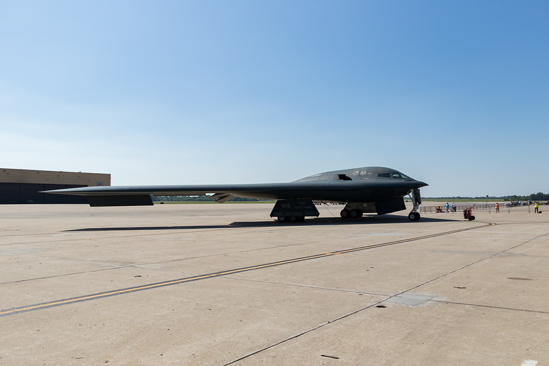 """-(Aircraft) Northrup Grumman B-2A Spirit<br /> -(Nation & Service) United States Air Force<br /> -(Squadron) 13th Bomb Squadron """"The Devil's Own Grim Reapers""""<br /> -(Home Base) Whiteman Air Force Base, Missouri<br /> -(Aircraft Name) The Spirit of Kitty Hawk"""