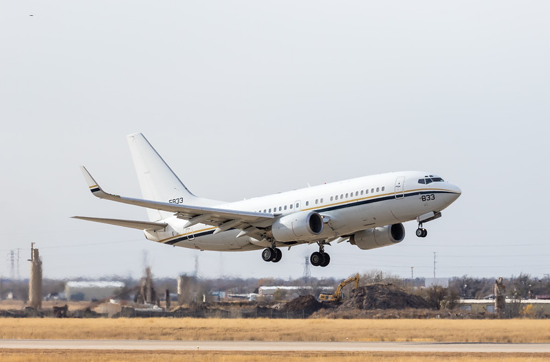 -(Aircraft) Boeing C-40A Clipper <br /> -(Nation & Service) United States Navy<br /> -(Squadron) Fleet Logistics Support Squadron 59<br /> -(Home Base) Naval Air Station Joint Reserve Base Fort Worth, Texas