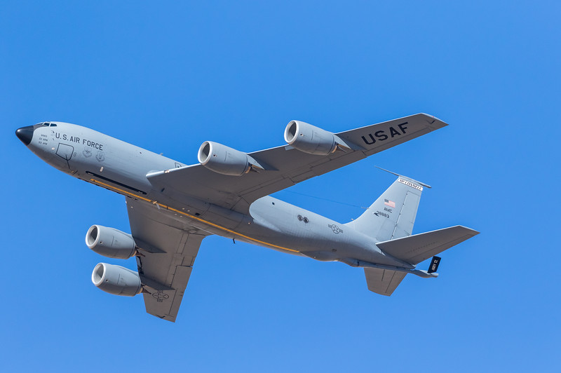 -(Aircraft) Boeing KC-135R Stratotanker <br /> -(Nation & Service) United States Air Force<br /> -(Squadron) 22d Air Refueling Wing<br /> -(Home Base) McConnell Air Force Base, Kansas