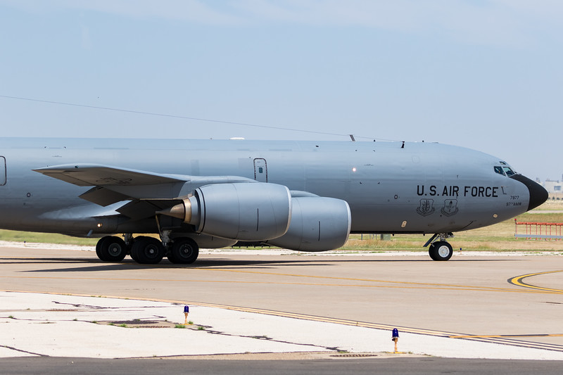 "-(Aircraft) Boeing KC-135R Stratotanker <br /> -(Nation & Service) United States Air Force<br /> -(Squadron) 54th Air Refueling Squadron ""Jesters"" <br /> -(Home Base) Altus Air Force Base, Oklahoma"