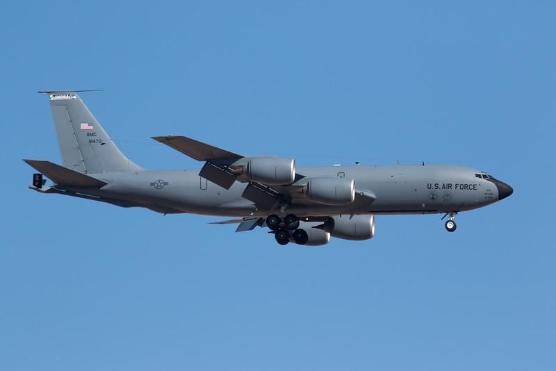 "-(Aircraft) Boeing KC-135R Stratotanker<br /> -(Nation & Service) United States Air Force<br /> -(Squadron) 116th Air Refueling Squadron ""Ace of Spades""<br /> -(Home Base) Fairchild Air Force Base, Washington"