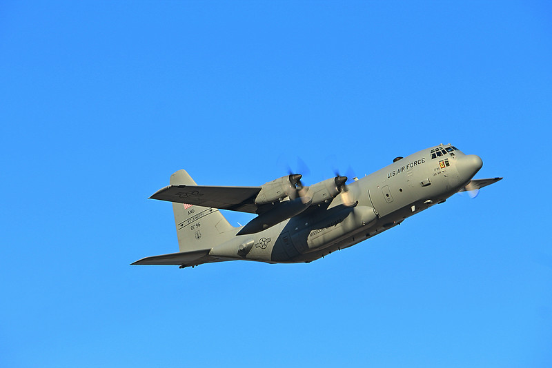 -(Aircraft) Boeing C-130H2 Hercules <br /> -(Nation & Service) United States Air Force<br /> -(Squadron) 180th Airlift Squadron<br /> -(Home Base) Rosecrans Air National Guard Base, Missouri