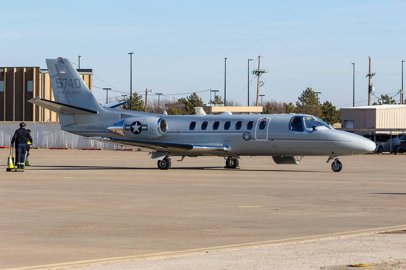 -(Aircraft) Cessna UC-35C Citation Ultra (560)<br /> -(Nation & Service) United States Marine Corps<br /> -(Squadron) Marine Transport Squadron Belle Chasse<br /> -(Home Base) Naval Air Station Joint Reserve Base New Orleans, Louisiana
