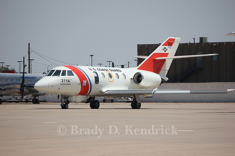 -(Aircraft) Dassault HU-25A Guardian<br /> -(Nation & Service) United States Coast Guard<br /> -(Home Base) Coast Guard Air Station Corpus Christi, Texas