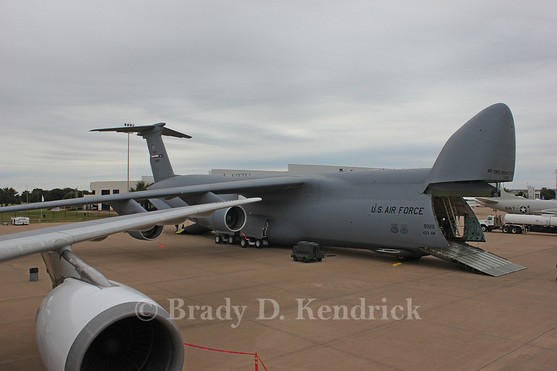 -(Aircraft) Lockheed C-5 Galaxy <br /> -(Nation & Service) United States Air Force<br /> -(Squadron) 356th Airlift Squadron<br /> -(Home Base) Kelly Field Annex, Texas