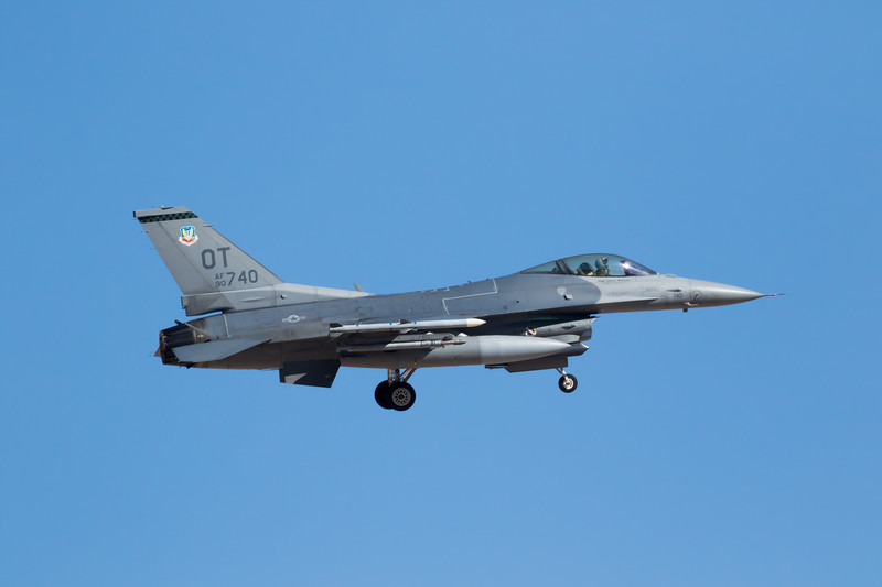 "-(Aircraft) General Dynamics F-16C Fighting Falcon<br /> -(Nation and Service) United States Air Force<br /> -(Squadron) 422nd Test and Evaluation Squadron ""Green Bats""<br /> -(Home Base) Nellis Air Force Base, Nevada"