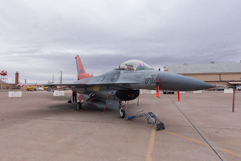 -(Aircraft) General Dynamics QF-16C Fighting Falcon <br /> -(Nation & Service) United States Air Force<br /> -(Squadron) 82nd Aerial Targets Squadron Detachment 1<br /> -(Home Base) Holloman Air Force Base, New Mexico