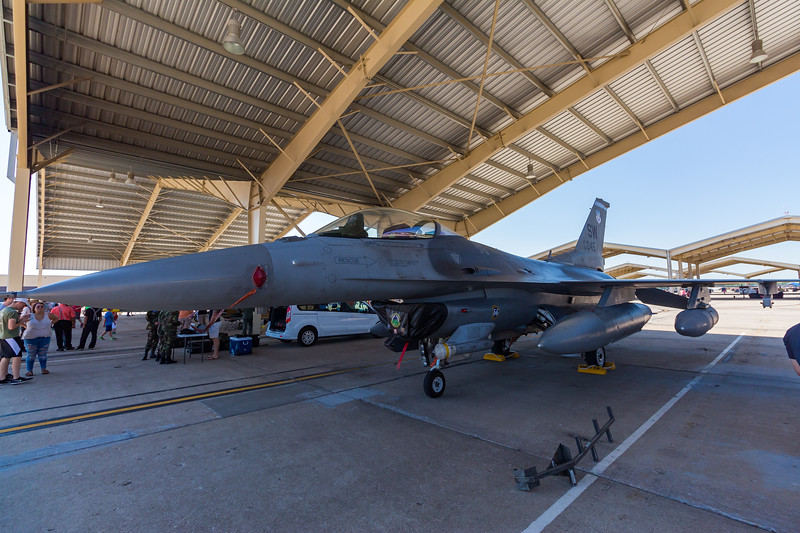 "-(Aircraft) General Dynamics F-16CJ Fighting Falcon<br /> -(Nation & Service) United States Air Force<br /> -(Squadron) 55th Fighter Squadron ""Fightin' Fifty-Fifth""<br /> -(Home Base) Shaw Air Force Base, South Carolina"