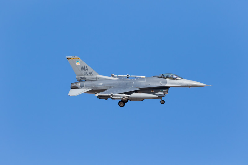 "-(Aircraft) General Dynamics F-16C Fighting Falcon<br /> -(Nation & Service) United States Air Force<br /> -(Squadron) 16th Weapons Squadron ""Tomahawks""<br /> -(Home Base) Nellis Air Force Base, Nevada"