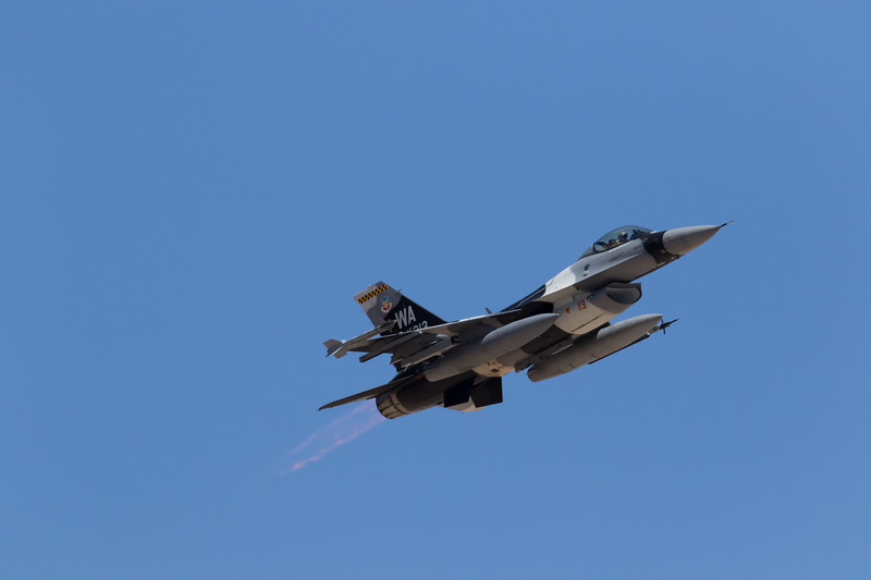 -(Aircraft) General Dynamics F-16C Fighting Falcon<br /> -(Nation & Service) United States Air Force<br /> -(Squadron) 64th Aggressor Squadron<br /> -(Home Base) Nellis Air Force Base, Nevada
