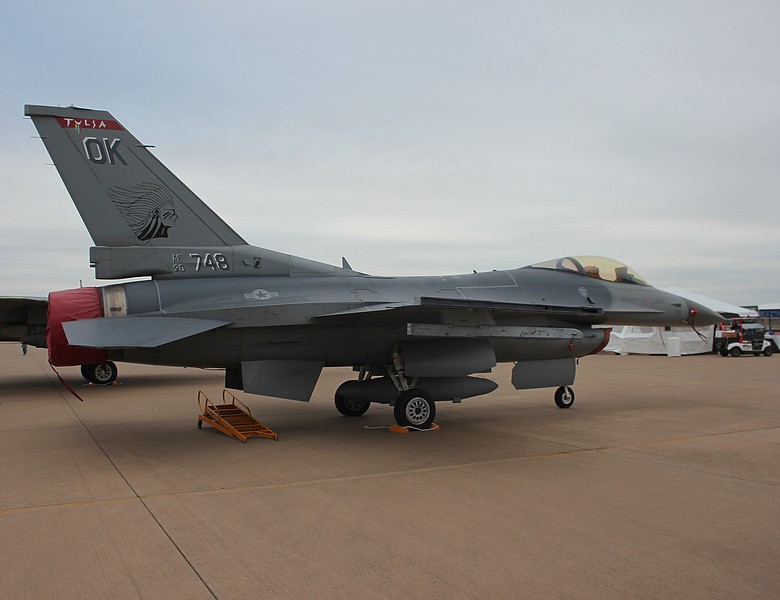 "-(Aircraft) General Dynamics F-16C Fighting Falcon<br /> -(Nation & Service) United States Air Force <br /> -(Squadron) 125th Fighter Squadron ""Tulsa Vipers""<br /> -(Home Base) Tulsa Air National Guard Base, Oklahoma"