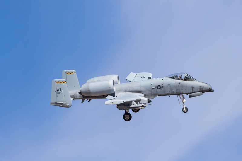 -(Aircraft) Fairchild Republic OA-10A Thunderbolt II<br /> -(Nation & Service) United States Air Force<br /> -(Squadron) 66th Weapons Squadron<br /> -(Home Base) Nellis Air Force Base, Nevada