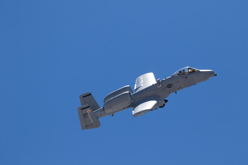 "-(Aircraft) Fairchild Republic A-10C Thunderbolt II<br /> -(Nation & Service) United States Air Force<br /> -(Squadron) 422nd Test and Evaluation Squadron ""Green Bats""<br /> -(Home Base) Nellis Air Force Base, Nevada"