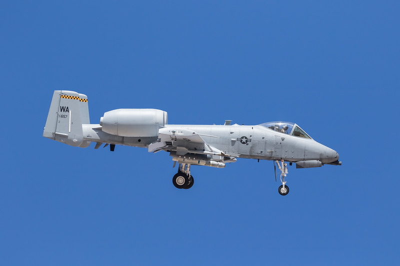 -(Aircraft) Fairchild Republic A-10C Thunderbolt II<br /> -(Nation & Service) United States Air Force<br /> -(Squadron) 66th Weapons Squadron<br /> -(Home Base) Nellis Air Force Base, Nevada