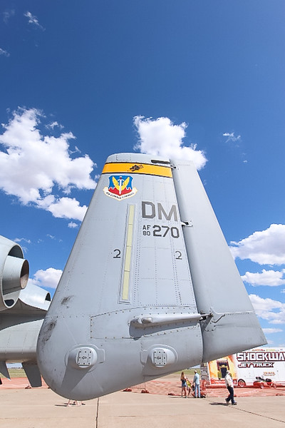 """-(Aircraft) Fairchild Republic A-10 Thunderbolt II<br /> -(Nation & Service) United States Air Force <br /> -(Squadron) 357th Fighter Squadron """"Dragons""""<br /> -(Home Base) Davis–Monthan Air Force Base, Arizona"""